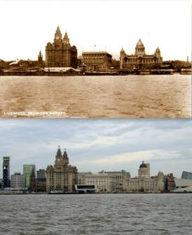 009 Pier Head, 1920s and 2014