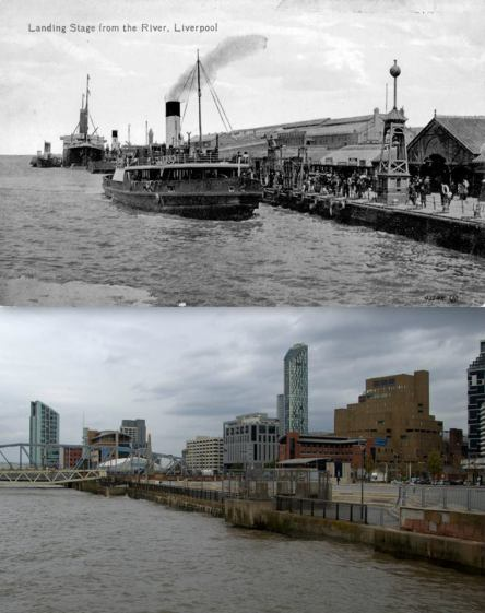 012 Landing Stage, 1900s and 2014