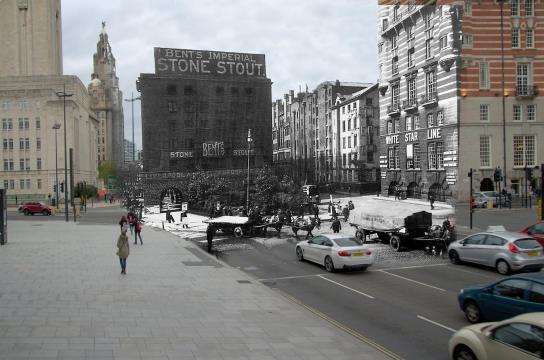 014 The Strand and Goree Warehouse, 1930s in 2014