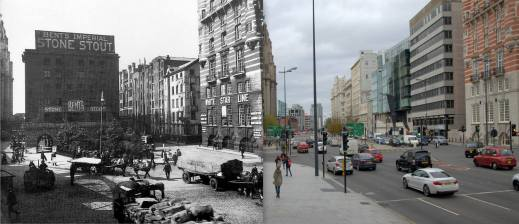 015 The Strand and Goree Warehouse, 1930s and 2014