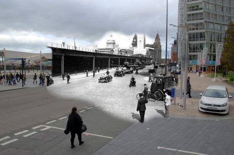 017 Pier Head, 1940s in 2014