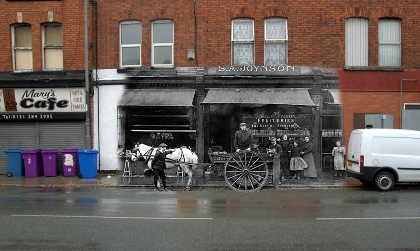 019 173 Westminster Road, Kirkdale, 1908 in 2014 S.A Joynson Fruiteries, The Best of Everything.