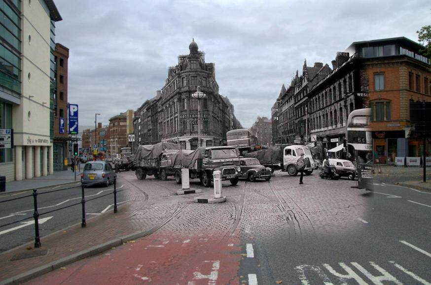 034 Old Haymarket Traffic, 1960s in 2014