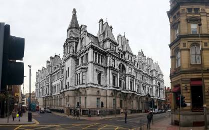 037 The General Post Office Building, Victoria Street, 1900s in 2014