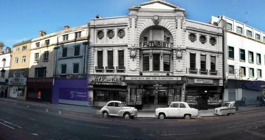 038 The Futurist Cinema, Lime Street, 1954 in 2014