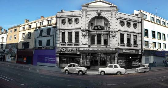038 The Futurist Cinema, Lime Street, 1954 in 2014