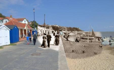 041 Felixstowe Promenade, 1890s in 2014