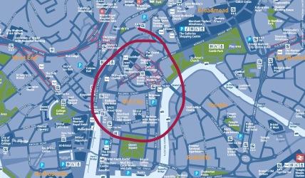 Bristol Walking Map
