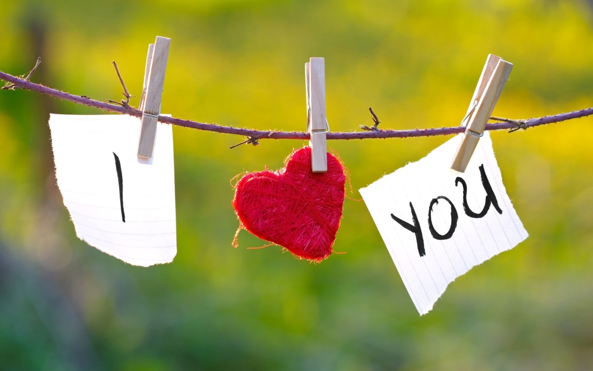"""Diferentes maneras de decir """"Te quiero"""" en Inglés"""