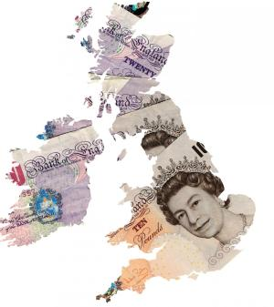 money uk map