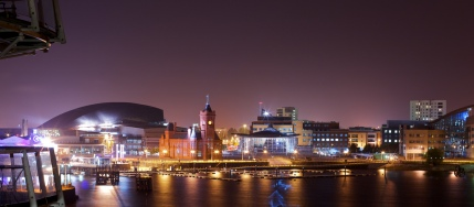 Pete Birkinshaw - Cardiff at Night