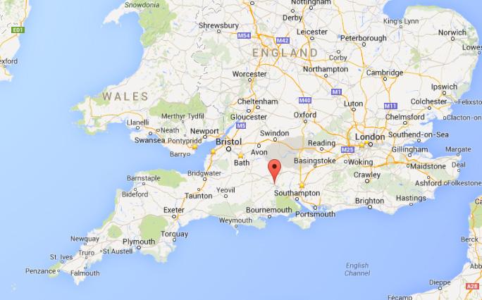 salisbury map uk