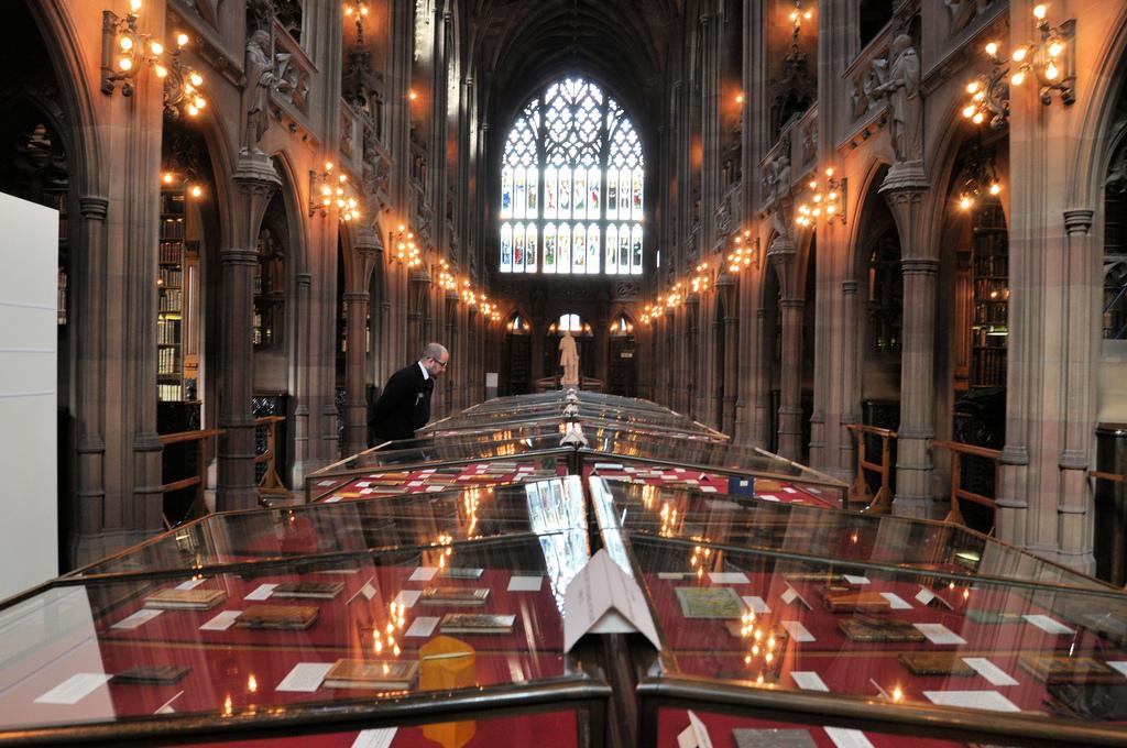 01 Gordon Marino - John Rylands Library, Manchester