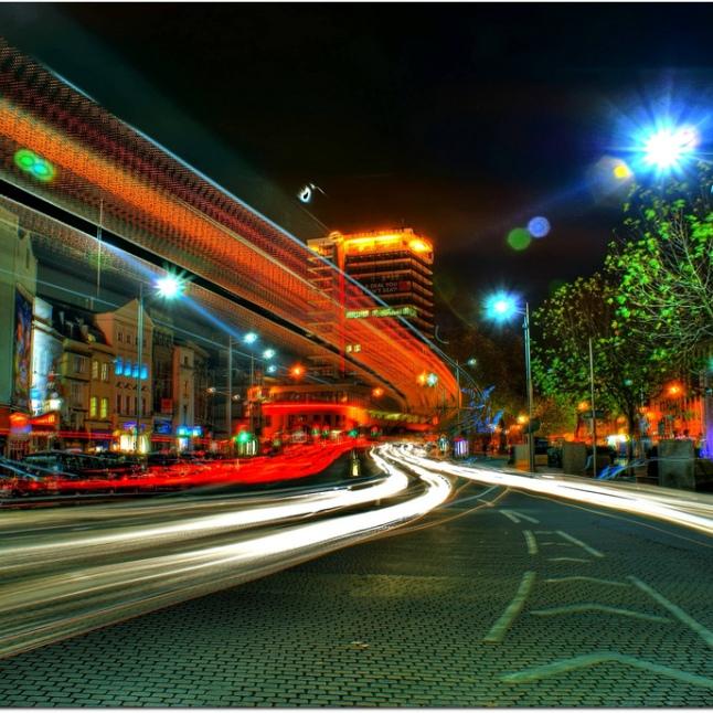 01 Luke Andrew Scowen - Bristol City Centre at Night