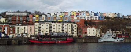 02 James Clark - Bristol Harbour and the Grain Barge
