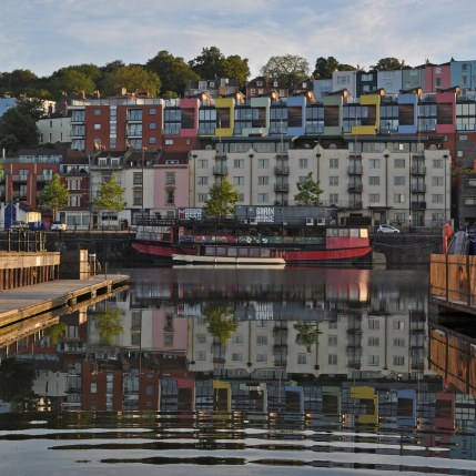 09 Harshil Shah - Bristol Harbour - view of Hotwells