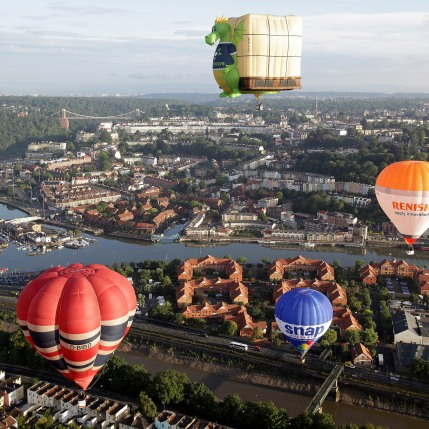 12 Paul Townsend - Bristol International Balloon Fiesta, 2014