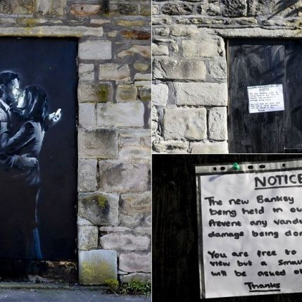 13 Paul Townsend - 2014 New Banksy artwork