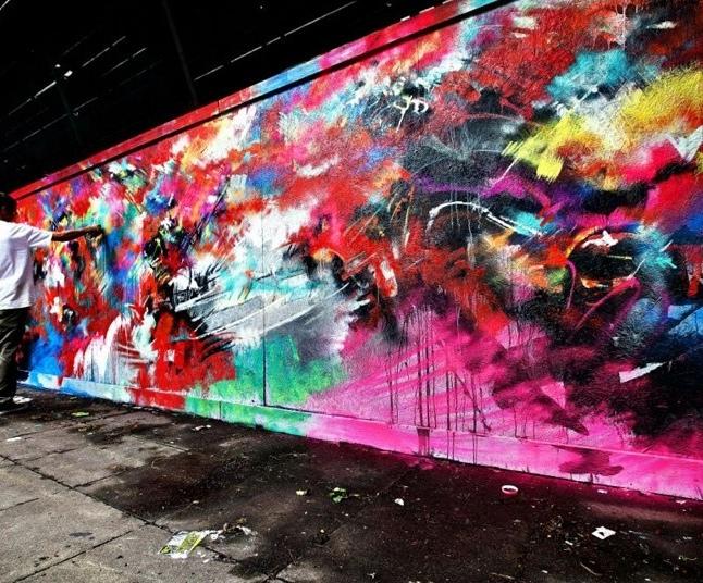 18 Paul Townsend - Bristol Street Art