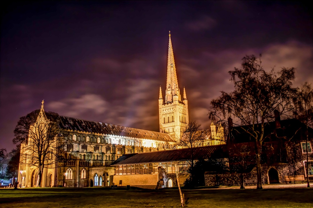 Norwich Cathedral by JasonBrown2013