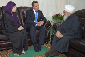 David Cameron visita la mezquita Jamia del norte de Manchester (2013) Foto: gov.uk