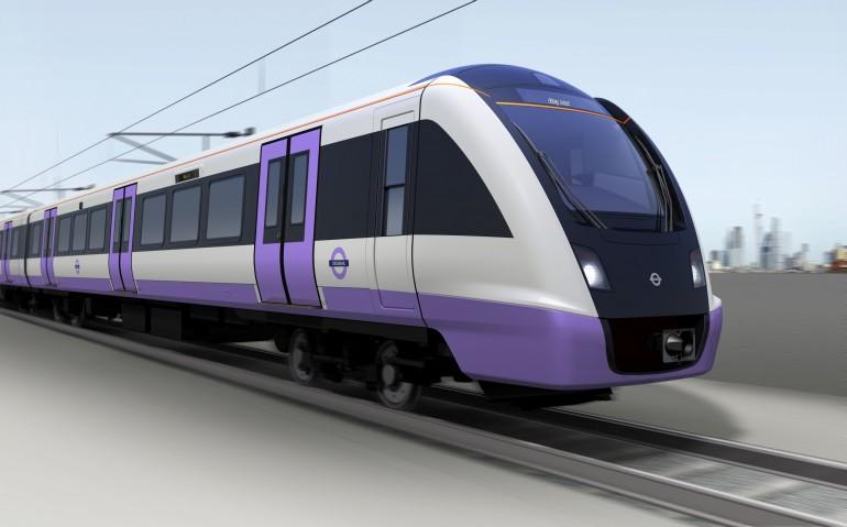 crossrail train coach