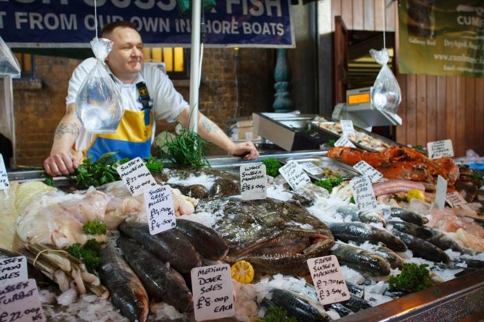 fishmonger pescatero by Gary J. Wood