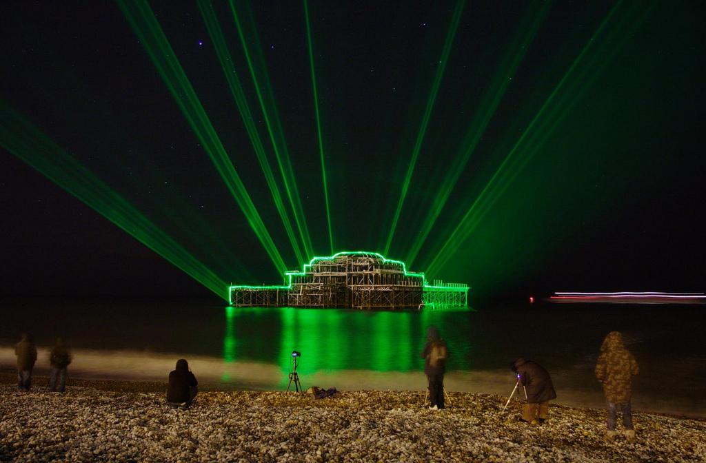 Barney Livingston - Laser Pier again