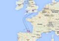 Ferries entre España y Reino Unido