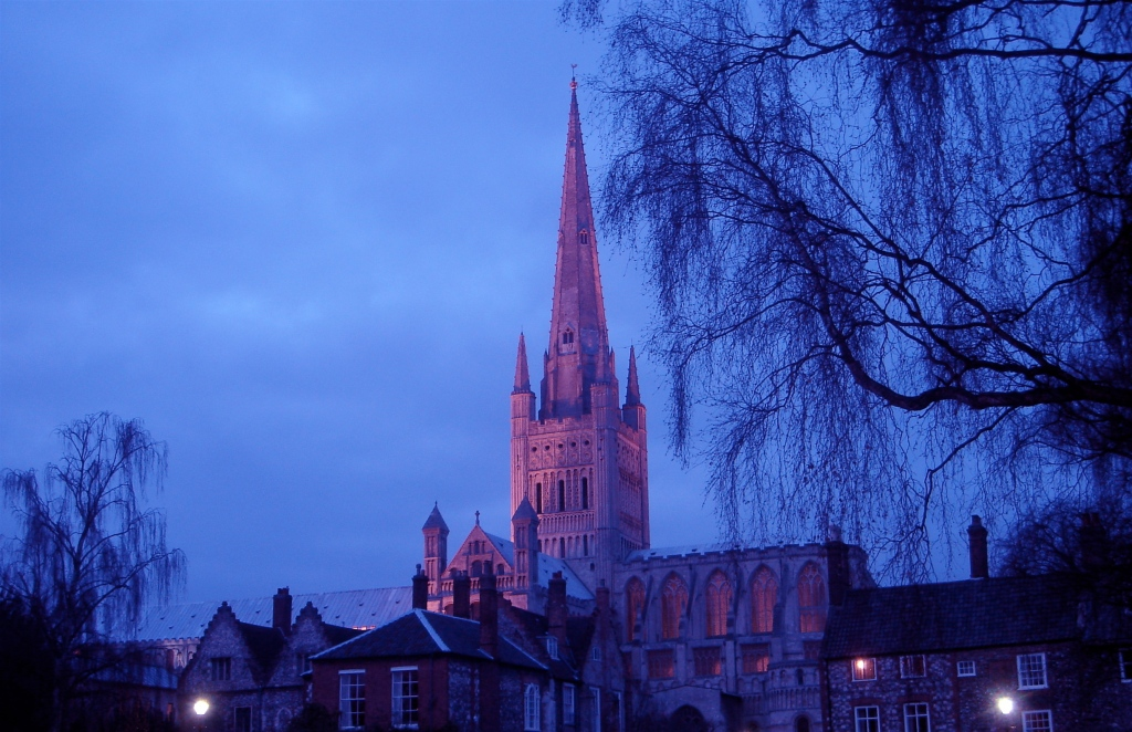 Norwich Cathedral - saxonmoseley
