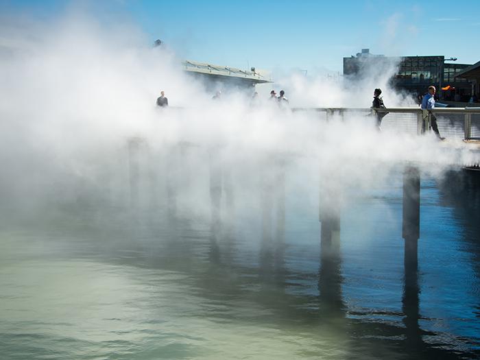 Puente de niebla