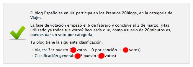votos bristolenos 20blogs premios