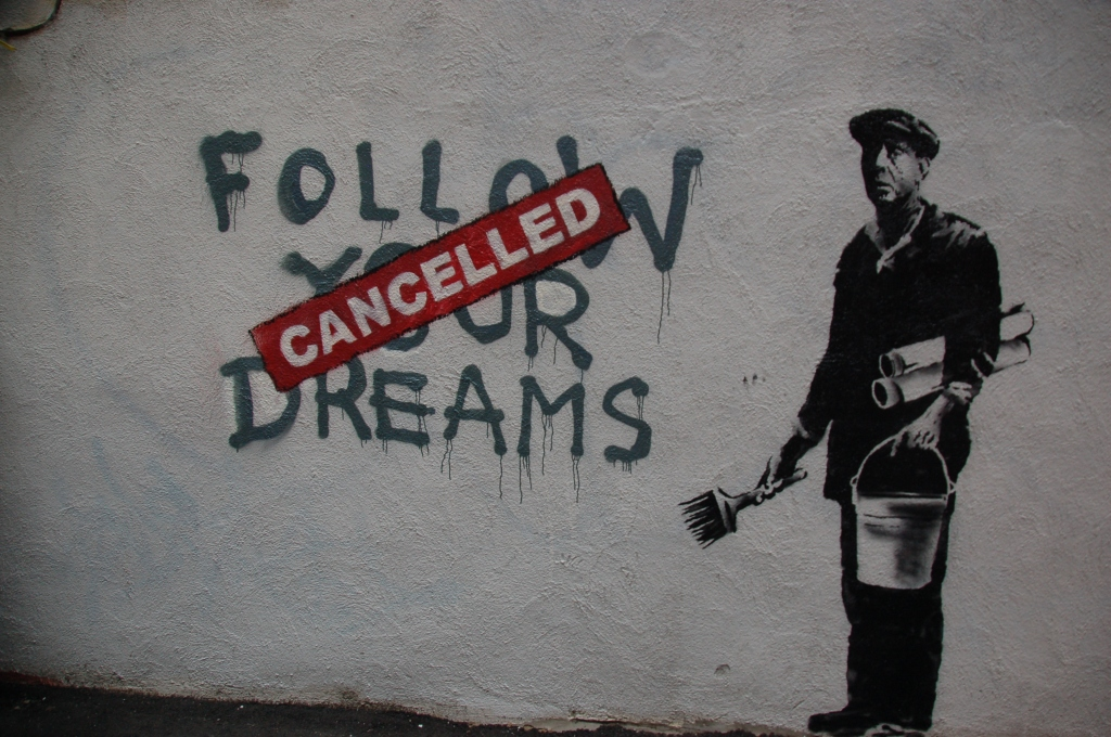 Chris Devers - Banksy in Boston - Dreams Cancelled
