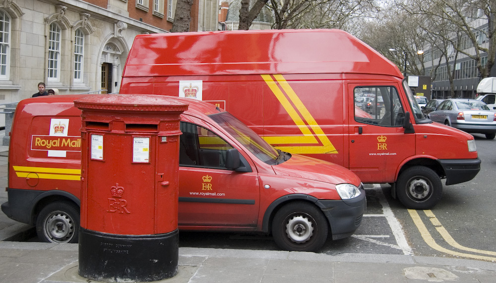 Cristiano Betta -- Royal Mail Delivery Cars