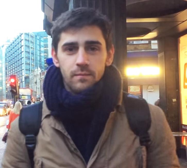 david, actor en españa, limpiador en londres