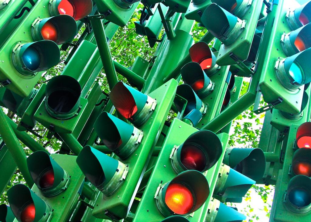 Doug Wheller - London traffic lights