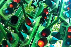 Doug Wheller - London traffic lights