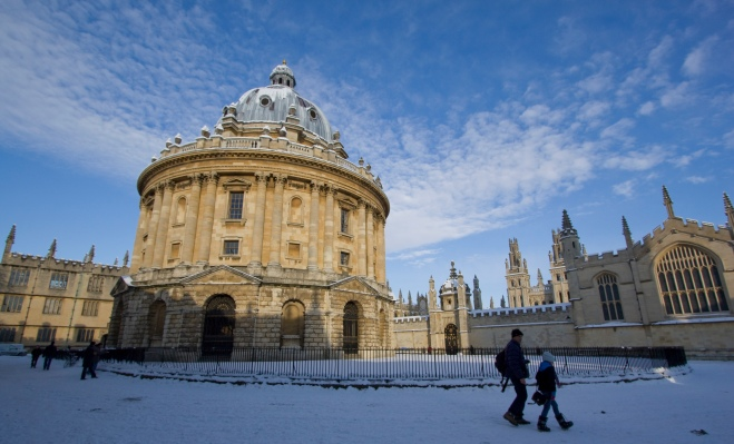 Fr Lawrence Lew, O.P. -- Snowy Oxford
