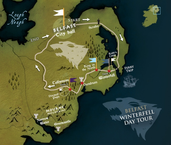 GoT belfast tours