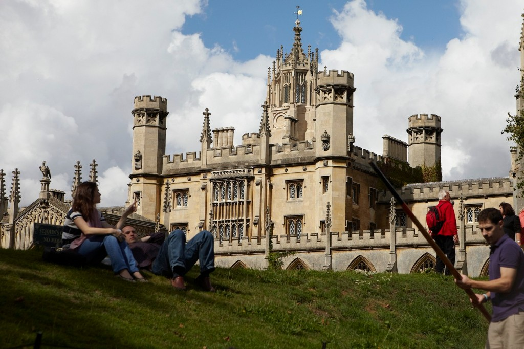 Joe Burke -- Cambridge university