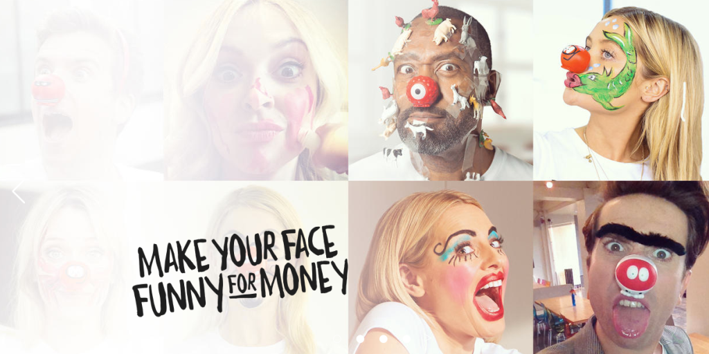 Make your face funny for money