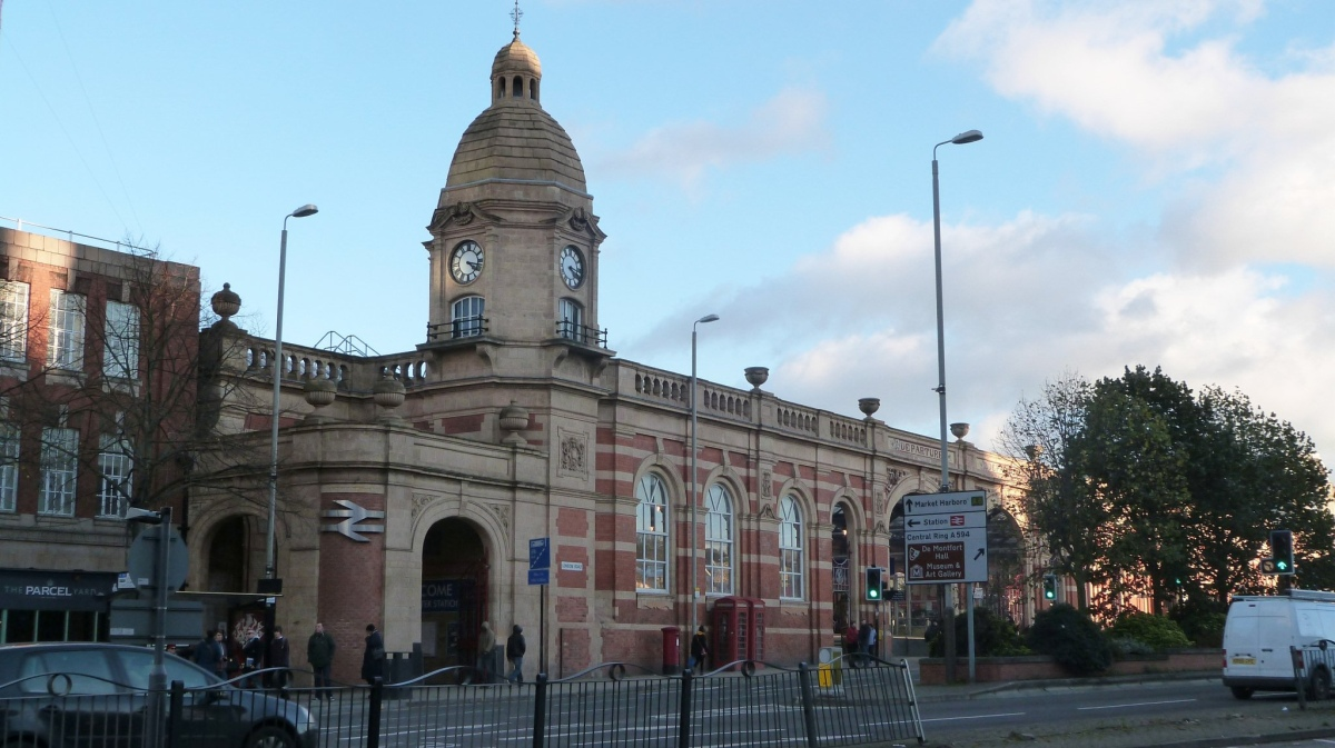 Peter Broster - Leicester Station