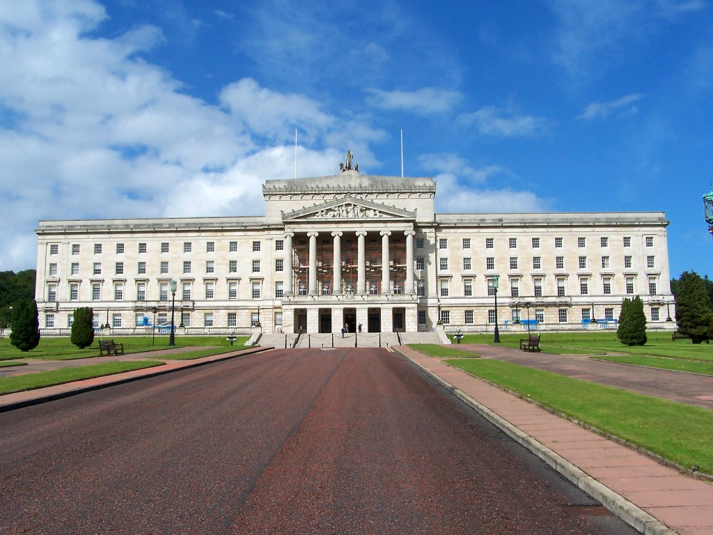PPCC Antifa -- Stormont-Parliament, Belfast