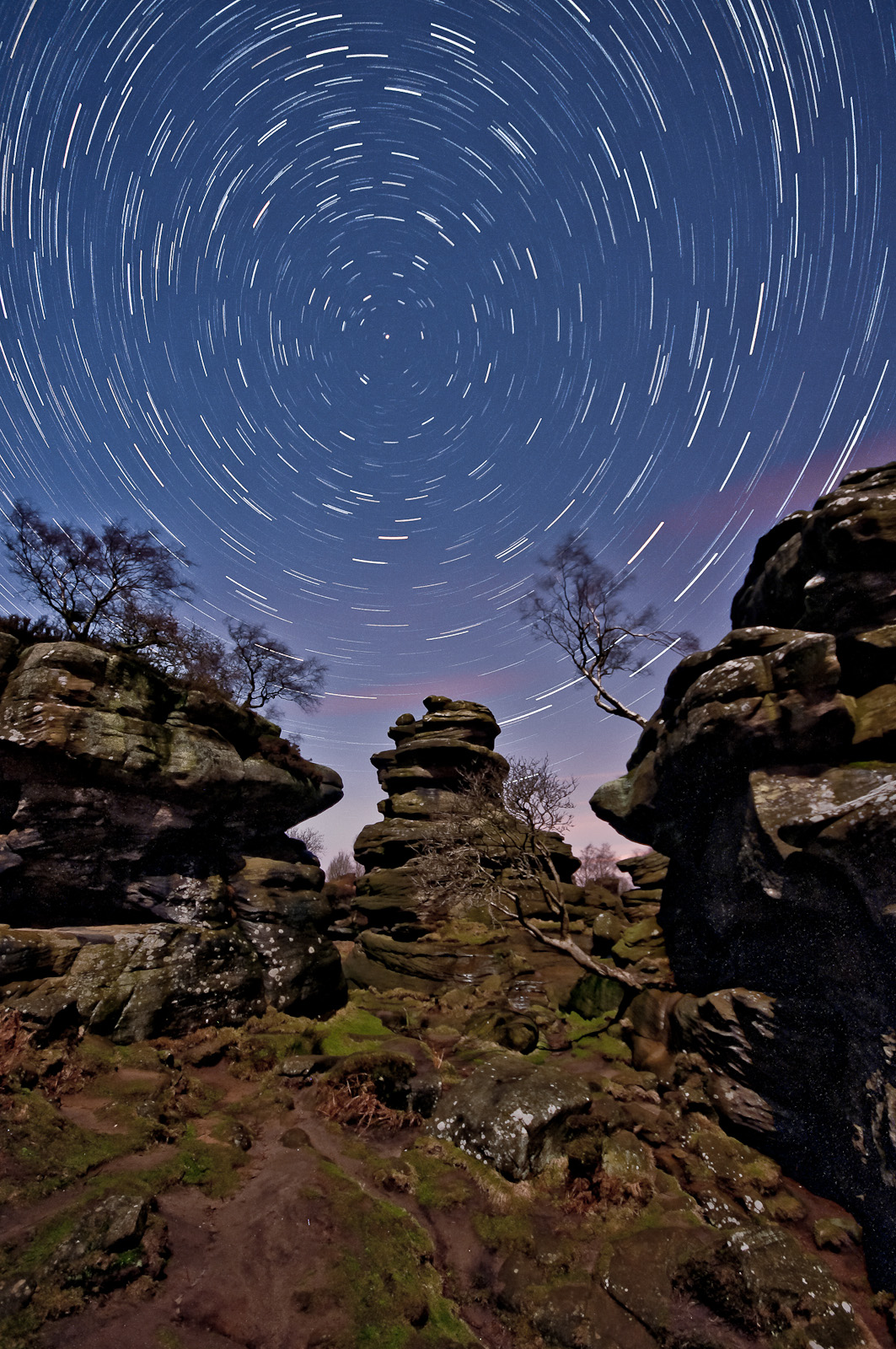Vaidotas Mišeikis - Brimham Rocks in North Yorkshire.
