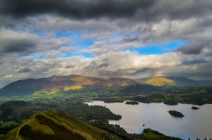 Andy Rothwell - View from Catbells Fell.