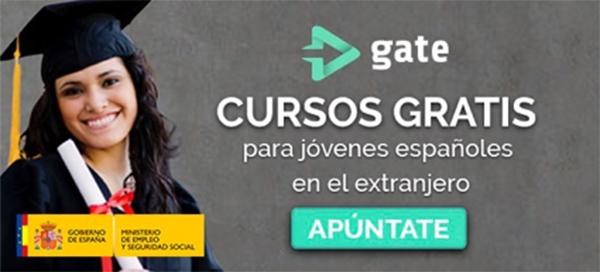 aulagate cursos gratis españoles extranjero