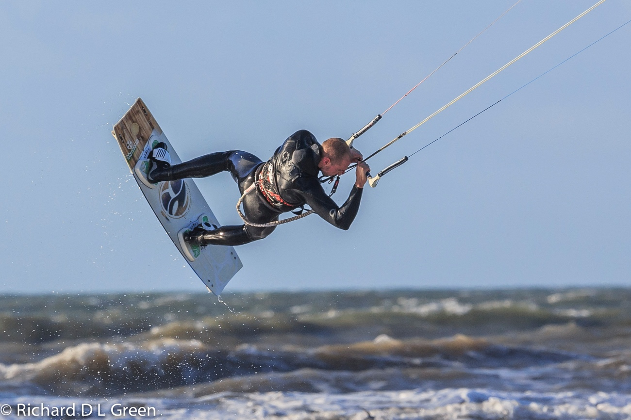 Lloyd Green - Kite Surfing, Pembrey Beach