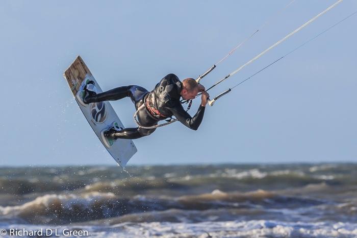 Lloyd Green - Kite Surfing, Pembrey Beach