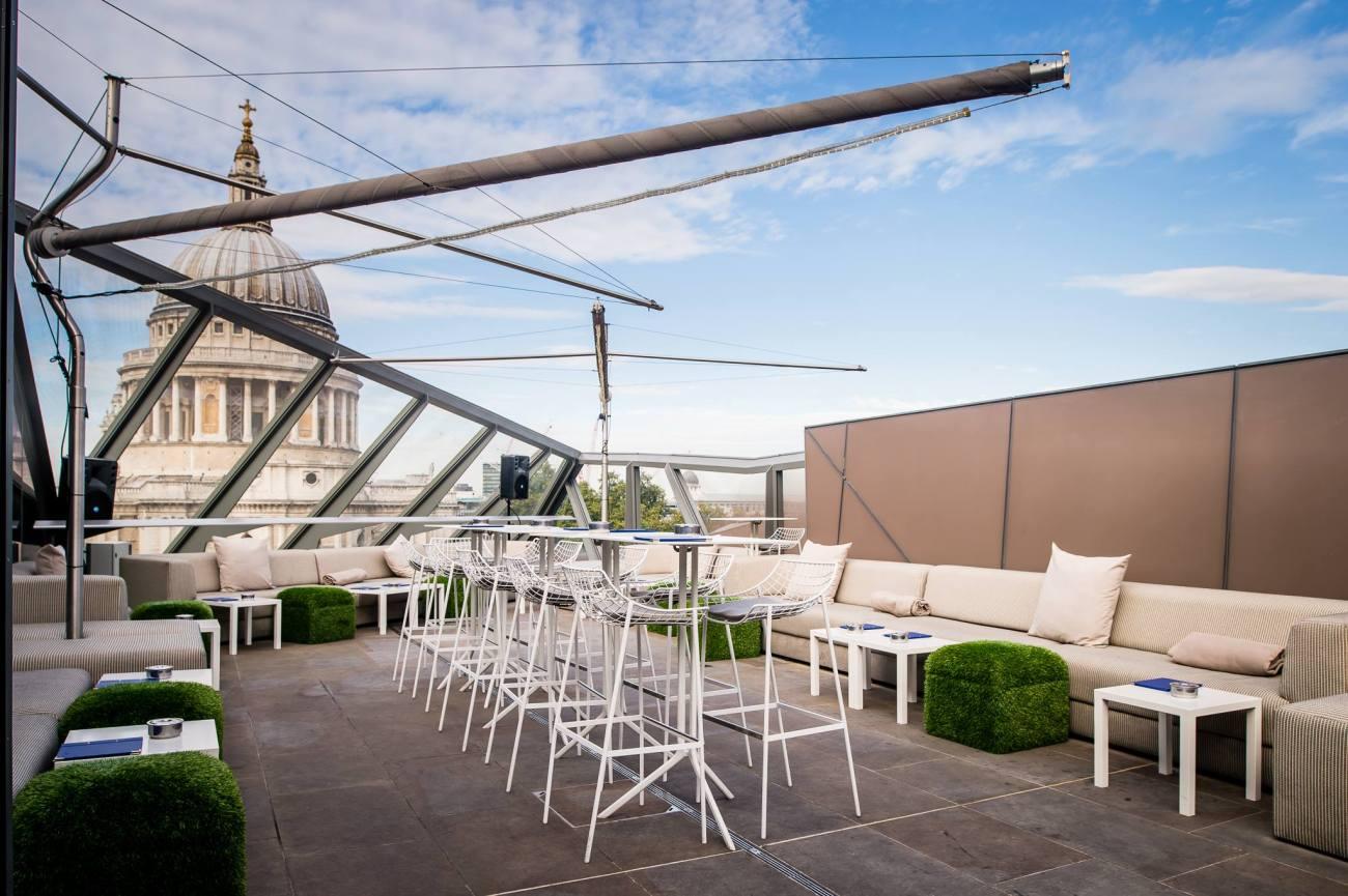 madison restaurant terrace london