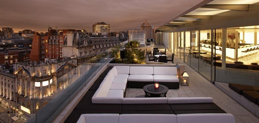 melia london rooftop